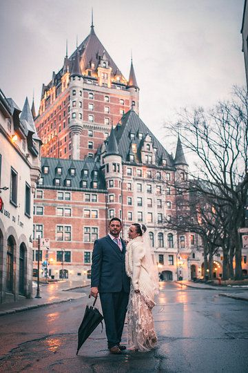 Isabelle Ken Wedding Fairmont Le Château Frontenac Quebec City Taken By Http Www Ashleymacphee Pinterest And Weddings
