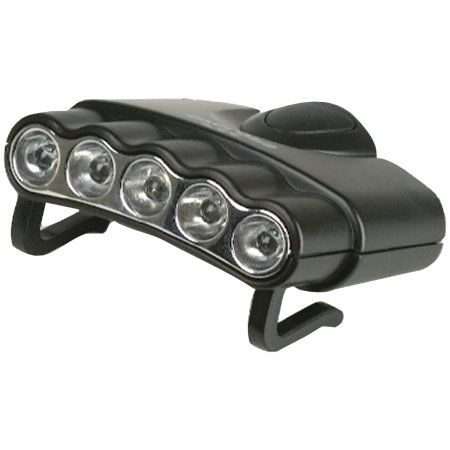 Cyclops Cyc Hc5 W Orion 5 Hat Clip Light With 5 Clear Led Lights Walmart Com In 2021 Clip Lights Led Lights Hat Clips