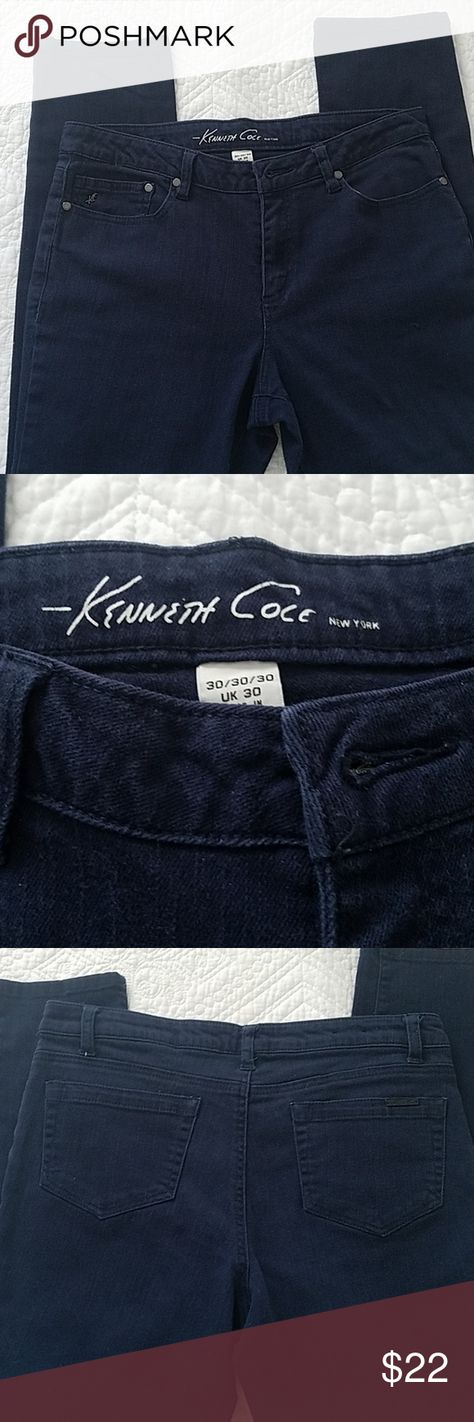 Kenneth Cole Reaction Tank Top Vest W// Hidden Bralette UK S Blue