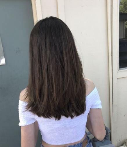 Haircut Ideas Layers Medium Short Straight Best Haircut Straight Medium Short Layers 36 Ideas Haircuts For Medium Hair Hair Styles Haircuts Straight Hair