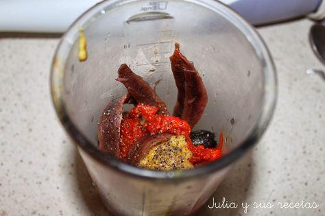Julia Y Sus Recetas Tapenade Paté De Aceitunas Negras Pate De Aceitunas Recetas Con Aceitunas Aceitunas Negras