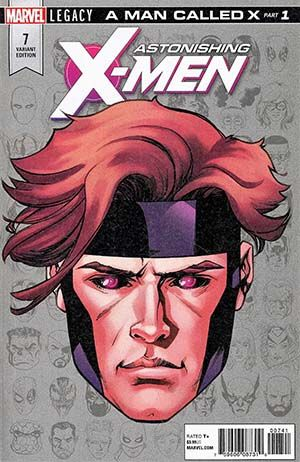 Astonishing X Men Vol 4 7 Cover E Incentive Mike Mckone Legacy Headshot Variant Cover Marvel Legacy T Marvel Comics Vintage Marvel Comics Marvel Comics Funny