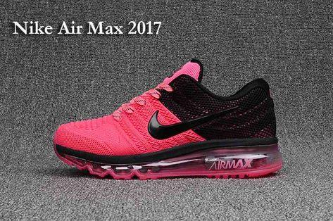 7e52ef18b2 Nike Air Max 2017 3.0 KPU Peach Black Women Shoes | Women Air Max ...