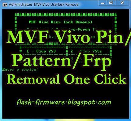 DownloadMVF Vivo User Lock Removal Tool Feature: Vivo Pattern Lock