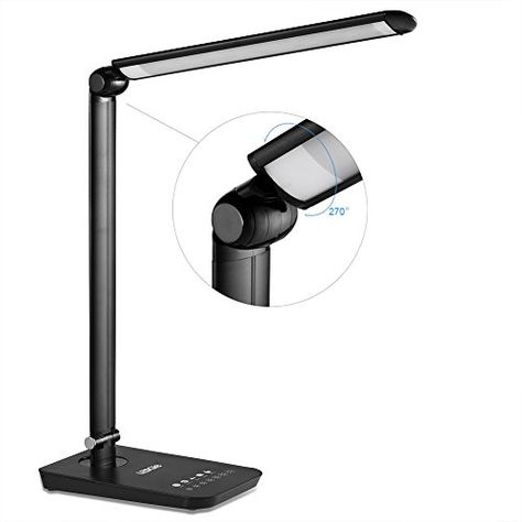 LEDGLE LED Desk Lamp Dimmable Rotatable Head Reading Lights