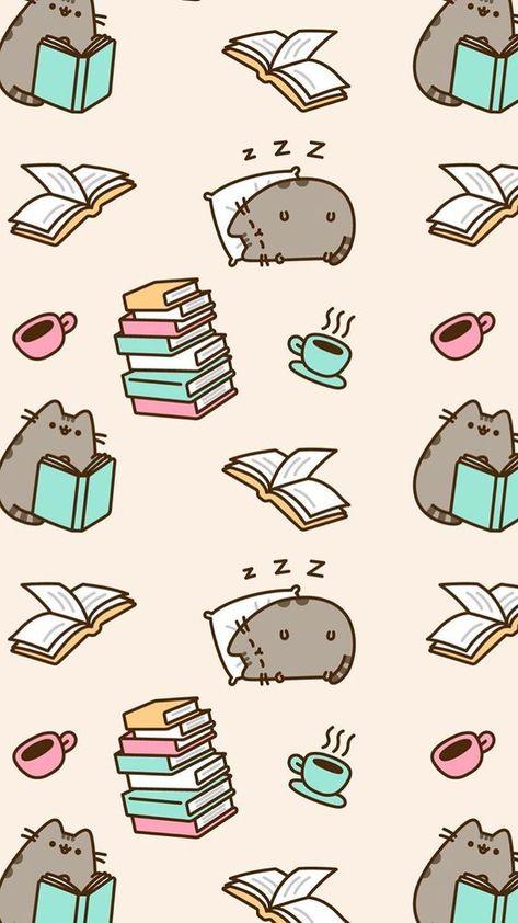 Cute Pusheen cat illustration