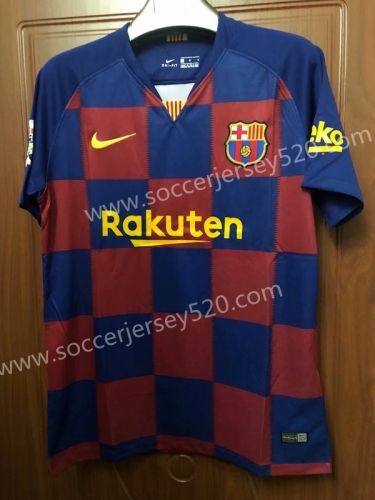 more photos d3090 481f1 2019-2020 Barcelona Home Red&Blue Thailand Soccer Jersey AAA ...