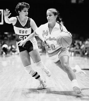 Kim Mulkey, #Baylor Lady Bears head coach, when she was a tough little point guard at La. Tech in the 1980s. #SicEm