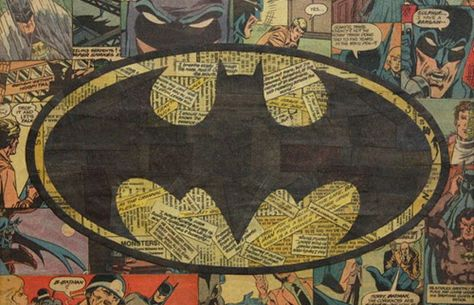 Amazing Collages Crafted From Pages of Your Favorite Comic Books