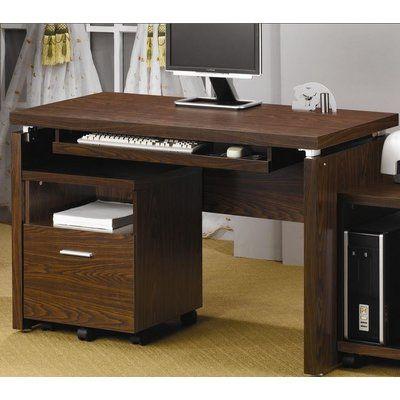 Zipcode Design Coolidge Computer Desk Finish Brown Small Home