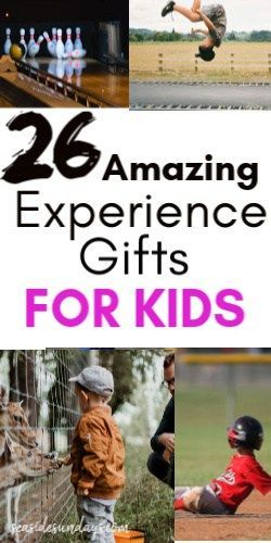 2020 Christmas Experience Gift 25+ Experience Gifts For Kids in 2020 | Experience gifts, Gifts