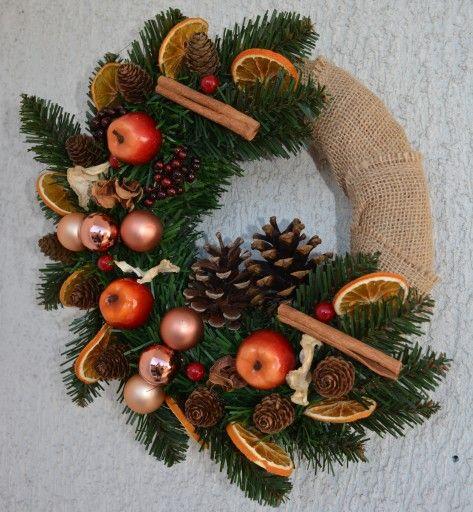 Wianek Swiateczny Stroik Boze Narodzenie 7674133841 Oficjalne Archiwum Allegro Christmas Wreaths Holiday Decor Holiday
