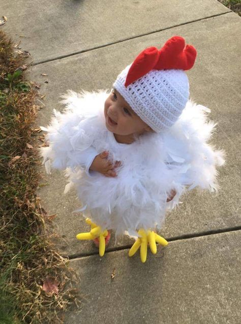 """Make baby costume yourself: 12 cute ideas for Baby-Kostüm selber machen: 12 süße Ideen zu Karneval Baby costumes for carnival: 12 super-cute ideas – """"From mini rockers to sushi rolls: with these carnival costumes, your baby is the star of Mardi Gras! Cute Baby Costumes, Baby Girl Halloween Costumes, Babies In Costumes, Halloween Mono, Halloween Kids, Halloween 2020, Cute Kids, Cute Babies, 3 Kids"""