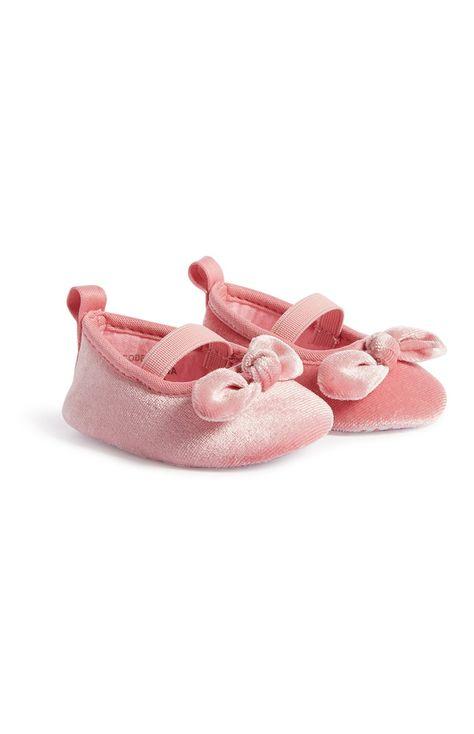 Baby Girl Pink Ballerina Shoes