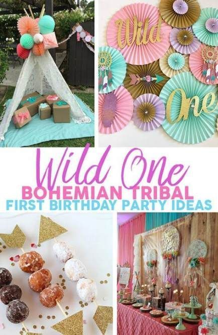 19 Ideas Birthday Party Themes Baby Color Schemes Party Birthday Baby 1st Birthday Party For Girls First Birthday Party Themes Tribal Birthday Party