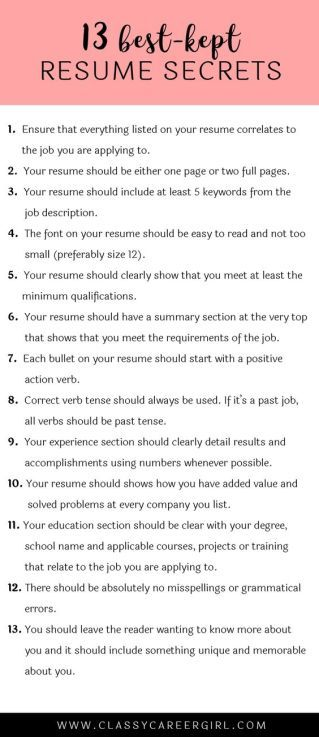 How To Prepare For A Last Minute Internship Interview. Resume WritingWriting  ...
