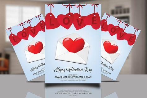 Valentines Day Card Psd Happy Valentines Day Valentines