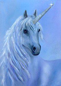 Healing Unicorn Print by Sundara Fawn
