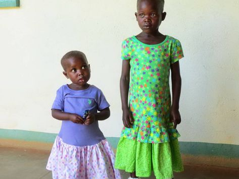 sew dresses for girls in africa charity service project - BrassyApple.com #eyes4zimbabwe