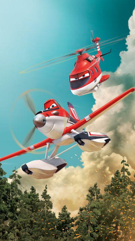 Planes: Fire & Rescue (2014) Phone Wallpaper | Moviemania