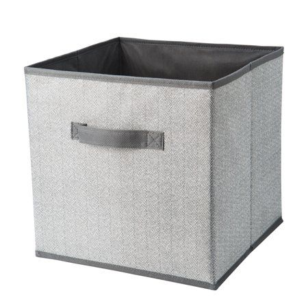 Home Fabric Storage Bins Fabric Storage Boxes Collapsible Storage Cubes