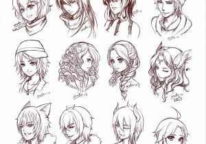 Need This Drawing Curly Easy Manga Hairstyles Hair Reference