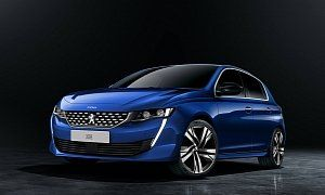 2020 Peugeot 308 Rendered With 508 Face Rumors Talk About Hybrid