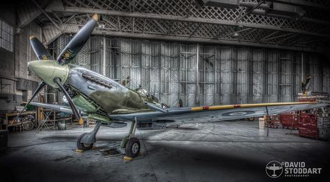 instaplane Spitfire MH434 in the Hangar...