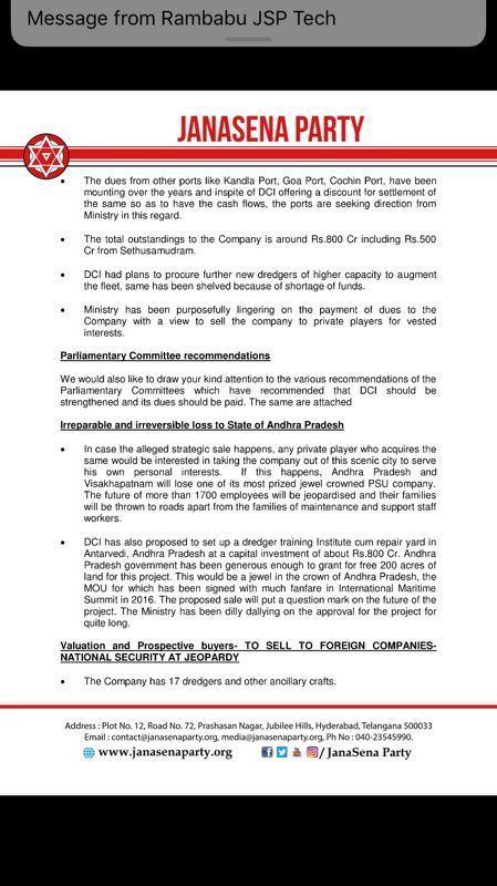 RT @PawanKalyan #JSP Letter of appeal sent to PMOs office in - letter of appeal