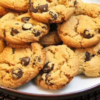 Kue Kering Choco Chips Renyah Choco Chip Cookies Chocochip Cookies Recipe Choco Chips