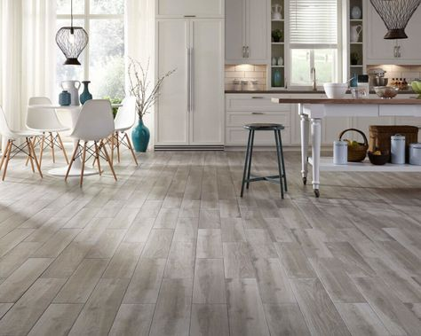6 Kitchen Flooring Trends For Every Style And Budget Kukun Gray Wood Tile Flooring Ceramic Wood Tile Floor Wood Tile Floors