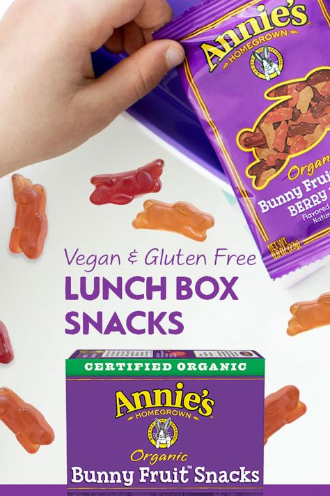 pack more fun into the lunch box annie s organic bunny fruit snacks pack a