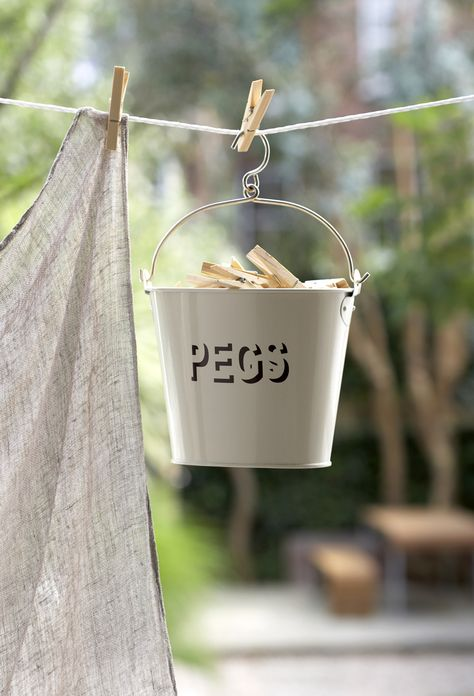 Archives Shabby Chic Stencilled Peg Bucket Clothespin Bag