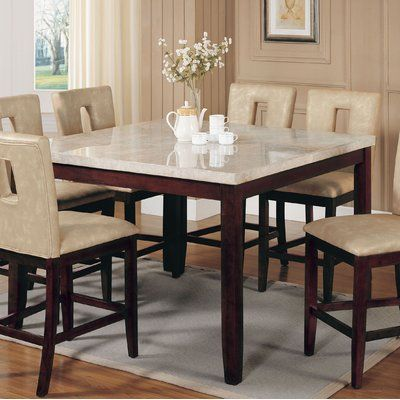42+ White high top dining set Top