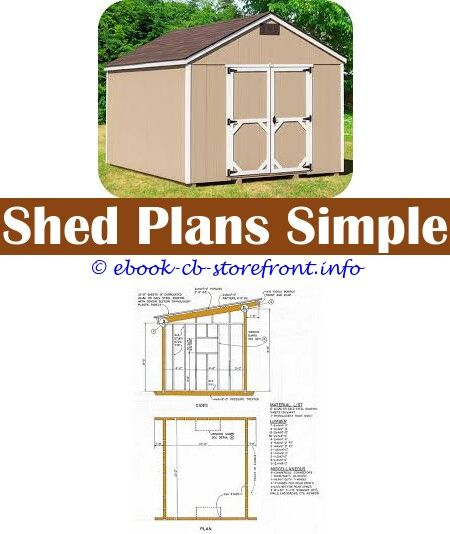 5 Excellent Hacks Building 8x10 Shed Base Simple Shed Building Plans 10 X 12 Shed Plans How To Build A Shed Free Plans Shed Plan With Material List