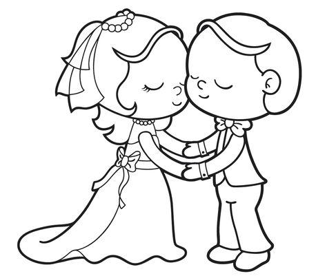 Ausmalbilder Brautpaar 370 Malvorlage Alle Ausmalbilder