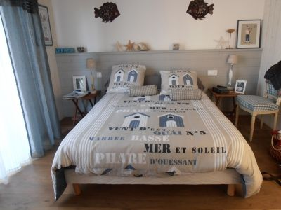 chambre ambiance bord de #mer - #deco | beautiful things for the