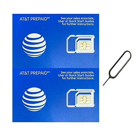 Postpaid AT/&T Easy Online Activation SIM Kit