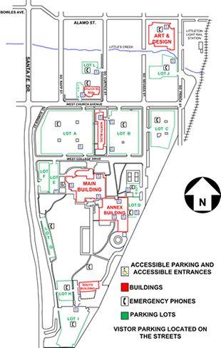 Acc Campus Map : campus, Littleton, Campus, Arapahoe, Campus,, Interior, Design, Programs