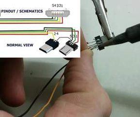 How To Make Usb Otg Cable Otg Usb Hub Usb