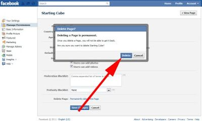 How To Delete Facebook Pages Https Ift Tt 37rhwo7 In 2020 With