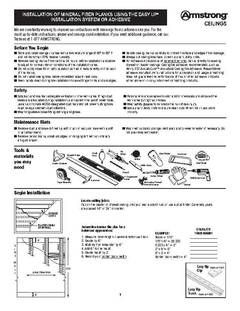 View Installation Of 480 Country Classic Planks Pdf Lowes Home Improvements Home Improvement Installation