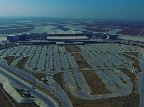airport #ariel view of #new #islamabad...