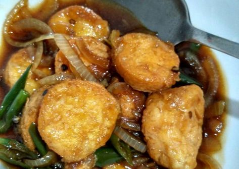 Resep Tofu Black Pepper Oleh Julie Comic Resep Merica Resep Masakan Jepang Resep Masakan