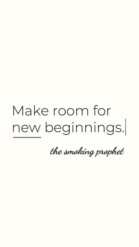 Make room for NEW beginnings!!!! 💜‼️