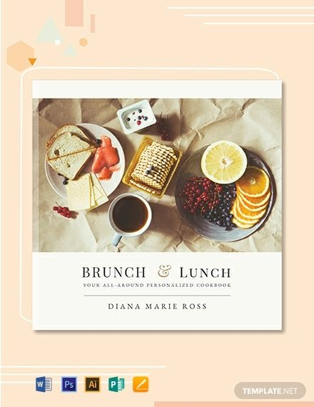 Free Photo Cookbook Cover Template Pdf Word Doc Psd Apple Mac Pages Google Docs Illustrator Publisher Cookbook Template Make Your Own Cookbook Cookbook Cover Design