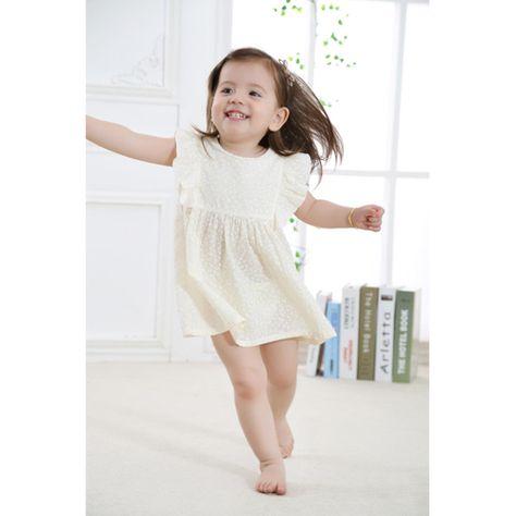 409d7786126 robe petite fille blanche