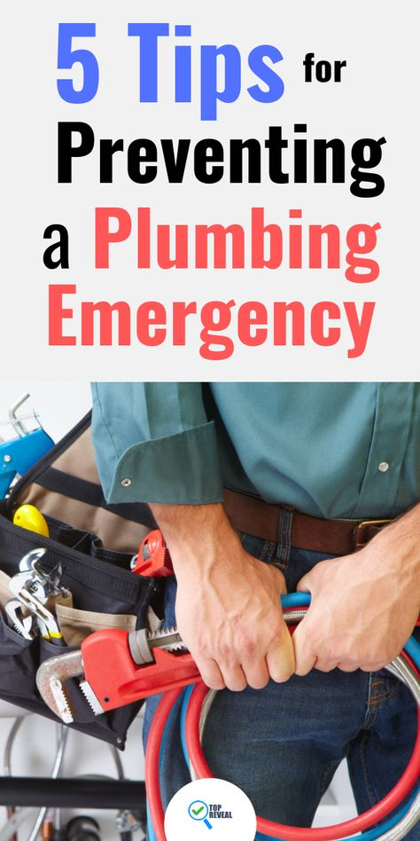 5 Tips for Preventing a Plumbing Emergency