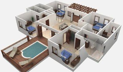 Hapedroid Solusi Lengkap Android Game Dan Aplikasi Terbaik 3d House Plans Smart House Plans Building Plans House