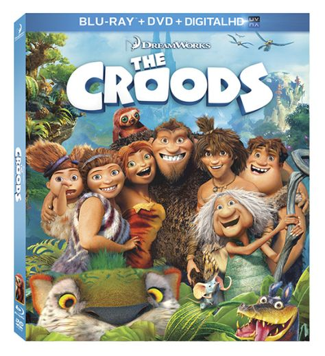 The Croods Blu-ray Prize Pack GIVEAWAY (US/CANADA) #TheCroodsDVD ~OVER~ - Yee Wittle Things